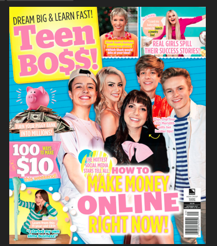 Teen star magazine girls