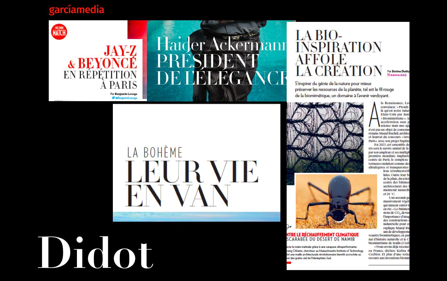 Paris Match: updating its design | García Media