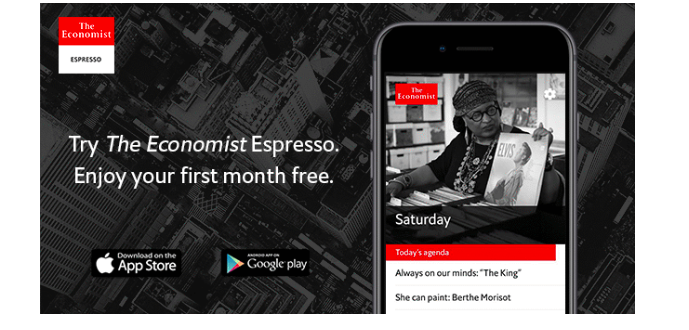 The Economist: for its new app, less is best | García Media